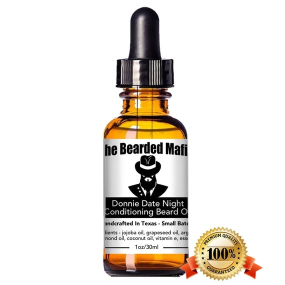 Donnie Datenight Conditioning Beard Oil by TheBeardedMafia on Etsy