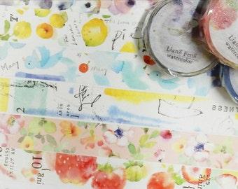 path x Liang Feng Watercolor Washi Tape, Masking Tape