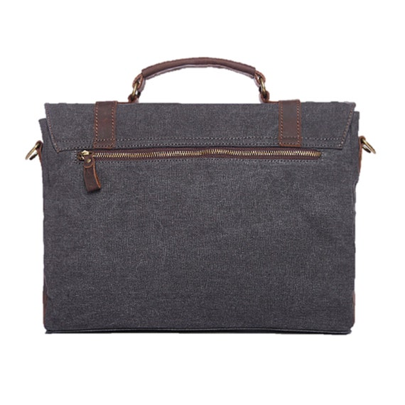 Leather Messenger Bag Men Waxed Canvas Messenger Bag Men Man