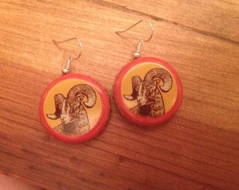 Shinner bock Earrings