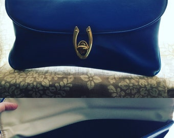 Blue Clutch