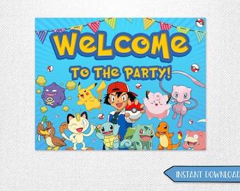 Pokemon poster etsy fr - Poster pokemon a imprimer ...