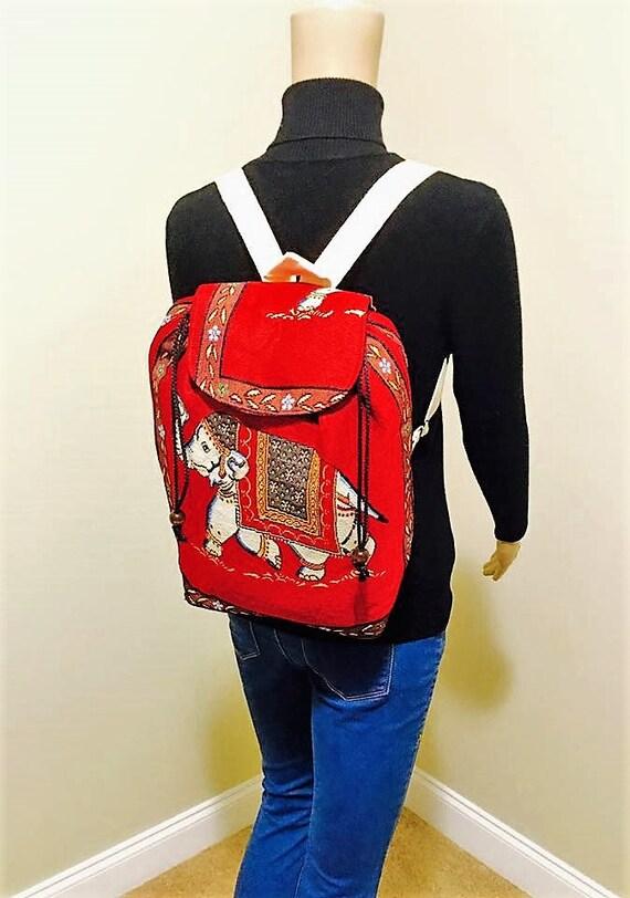 Elephant Over the Shoulder Backpack
