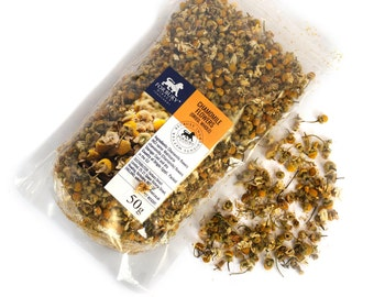 50g - 950g Chamomile (Camomile) Whole Heads Dried, SPECIAL Price!!!