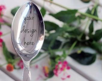Custom Engraved Spoon