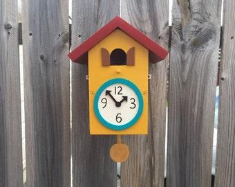 Coo Coo Clock Bird House