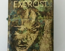 Modded, lighter, custom, edc, everyday carry, fire, force patina, the exorcist