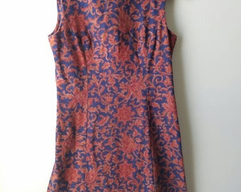O.O.A.K. vintage / handmade / 70s / dress / women's  / floral
