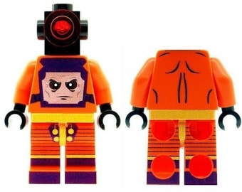 Custom Designed Minifigure - Mind Controller Printed On LEGO Parts