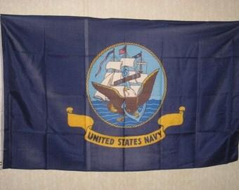 SALE 3x5 ft. navy flag