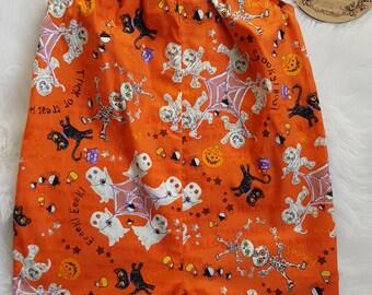 Size 2 Halloween print Romper