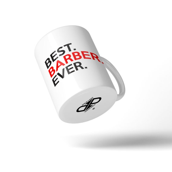 Best Barber Ever Mug - Great Gift Idea Stocking Filler