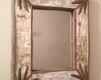 Birch Bark Mirror #4