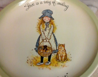 Collectible Holly Hobby Plate