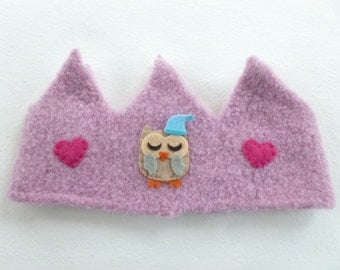 Wool Crown Perfect for a birthday crown or just everyday dress-up play! Waldorf