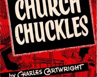 Church Chuckles - Charles Cartwright - 1967 - Vintage Book