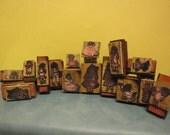 15  Vintage Doll stamps