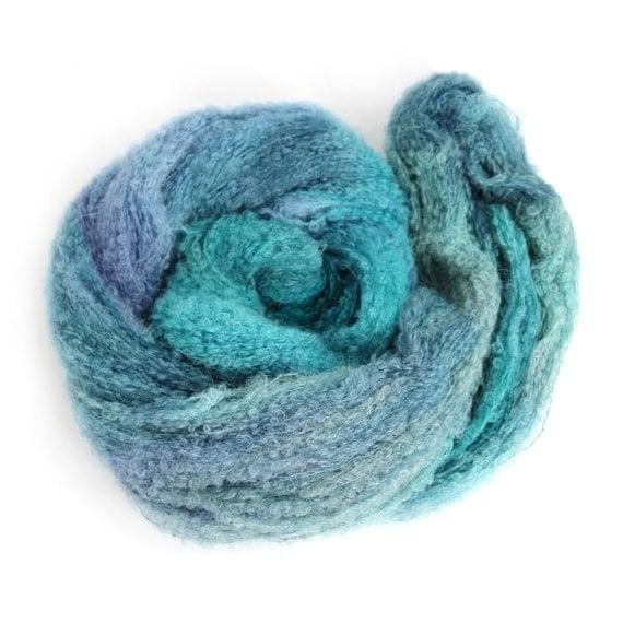 Knitting Patterns Boucle Wool : Fine boucle alpaca laceweight yarn hand dyed lace wool