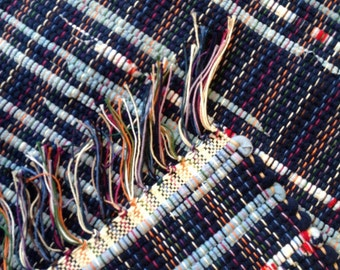 Rag Rug reuse cotton knit sheets tshirts 25 inches long by 27 inches wide