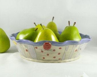 Ceramic Pie Baking Pan, Pie Dish, Pie Pan, Baking Dish, Bakeware Pie Plate, Aspen Tree Art, 9th Anniversary Gift, Colorado pottery 570