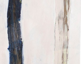 12 x 30 original painting || textured large painting by Brenna Giessen