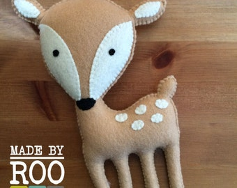 Woodland Friends Stuffie-Deer