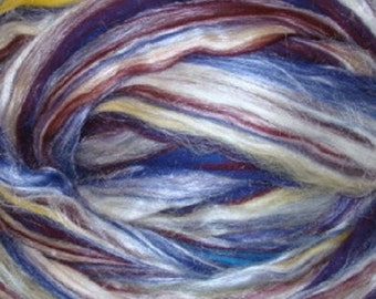 Ashland Bay Merino /Tussah Silk  70/30 Blend Concord 4 Ounces