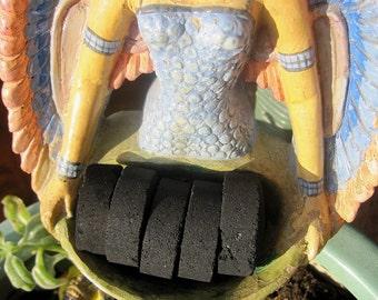 Incense Charcoal Briquettes Set of 5 for incense burner offerings herbal