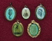 Choice of Dictionary Pendant (Small Oval)