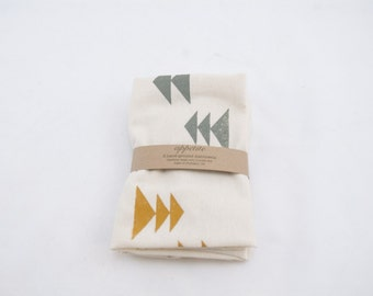 Alpine Screen-Printed Tea Towels