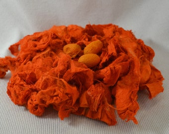 NEW Silk Carrier Rod and Cocoon Mix - Bright Orange 1/4 ounce