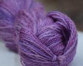 Summer Iris, Farm Grown, Millspun Longwool Yarn