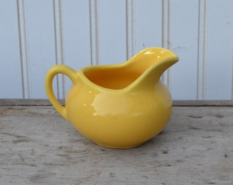 Yellow Bauer Creamer - Royal Hill Vintage