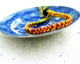 Woven Friendship Hemp Bracelet