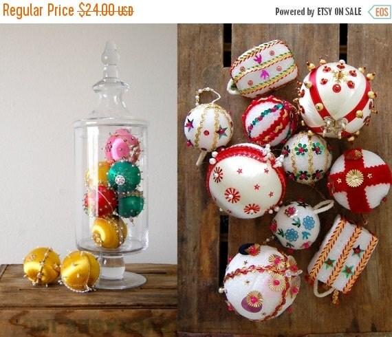 Sale Lot Of 18 Vintage Christmas Ornaments By Shopgoodgrace