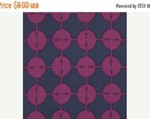 SALE Anna Maria Horner Field Study Collection Coordonites Dots Cotton Fabric by the yard Midnight from shereesalchemy  RARE OOP