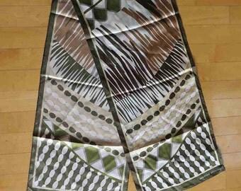 ADRIENNE VITTADINI Rectangular Silk Scarf