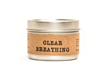 Clear Breathing - All Natural - 2 ounce