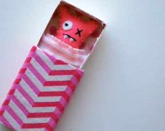 Pink Matchbox Monster with play accessories