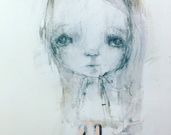 Beloved drawing online project - by Mindy Lacefield