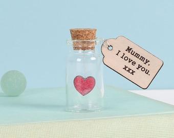 Ich Liebe Dich Valentinstag Andenken Flasche   Geschenk Für Ihre    Romantisches Geschenk   Jahrestag Geschenk