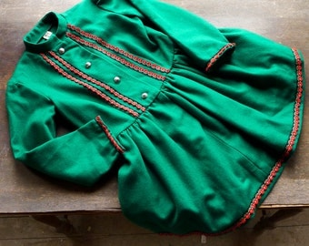 German Folk Dress Girl's Size 8