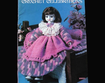 Crochet, Crochet Patterns, How to crochet, Crochet Celebrations  1983
