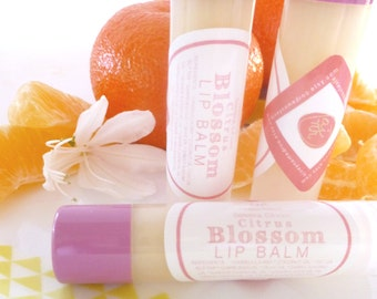 CITRUS BLOSSOM All Natural Vegan Lip Balm