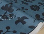 Japanese Fabric Kokka Trefle nature double gauze - D - 50cm