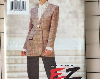 Vogue 8836 - Womens Ultra EZ Jacket & Pants - Vintage Sewing Pattern