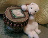 reserved forSarah only pink ferret,stuffed ferret,weasel,handmade ferret, mustlid,soft ferret,ferret toy,plush ferret
