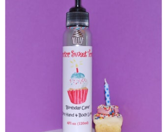 Vanilla Birthday Cake Body Lotion (Paraben Free)