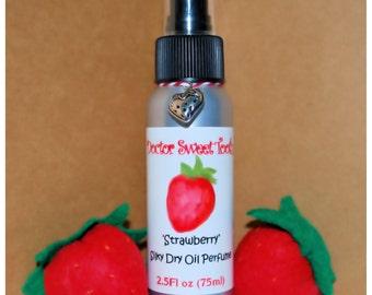 Strawberry Silky Dry Oil Perfume