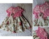 Tutu Dress Pattern - Crochet Pattern - 3 Sizes - Infant Crochet Dress - Baby Dress Pattern - KrissysWonders - Free Crochet Pattern if u by 2